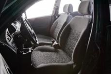 wyprane wnętrze samochodu